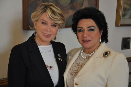Luisa and our Ambassador Princess Fay Jahan Ara