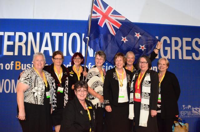 New Zealand delegation